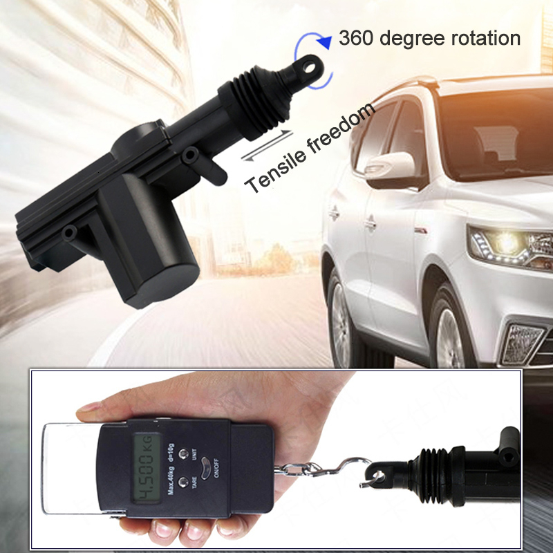 Image 5 - 12V Universal Car Door Lock Motor Actuator Keyless Entry System Remote Central Control Locking Kit With Trunk Release ButtonLocks & Hardware   -