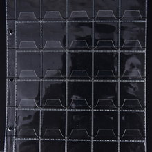 Coin-Holders Commemorative-Album Sheet 30-Pockets Book Storage Collection Anti-Slip Page