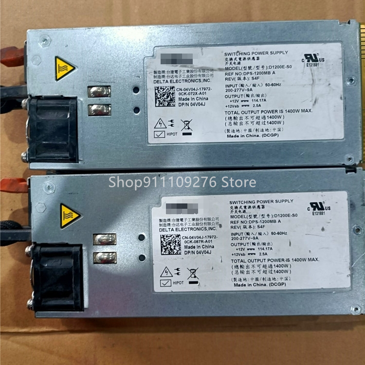 Disassemble-Power-Supply DPS-1200MB DELL for Switching D1200e-s0/Dps-1200mb/A/Max-1400w