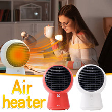 Happy Merry Christmas And Halloween Mini Heater, Small Shaking Head Portable Heater, Mini Electric Heater Home Tools #2020