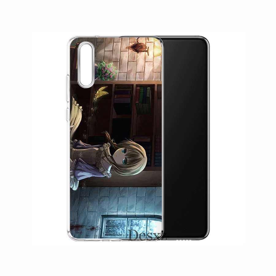 Điện Thoại di động dành cho Huawei P30 P20 P10 P8 P9 Lite Pro P Smart Z Plus TPU Phù Thủy nhà của Vỏ