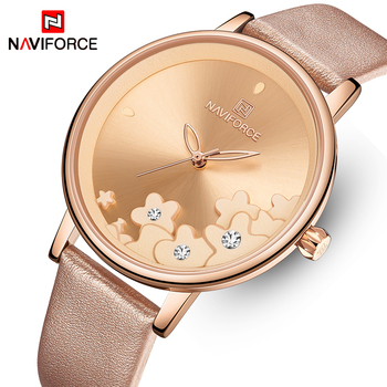 NAVIFORCE 5012 New Women Watches Fashion Stylish Waterproof Quartz Wristwatch with box