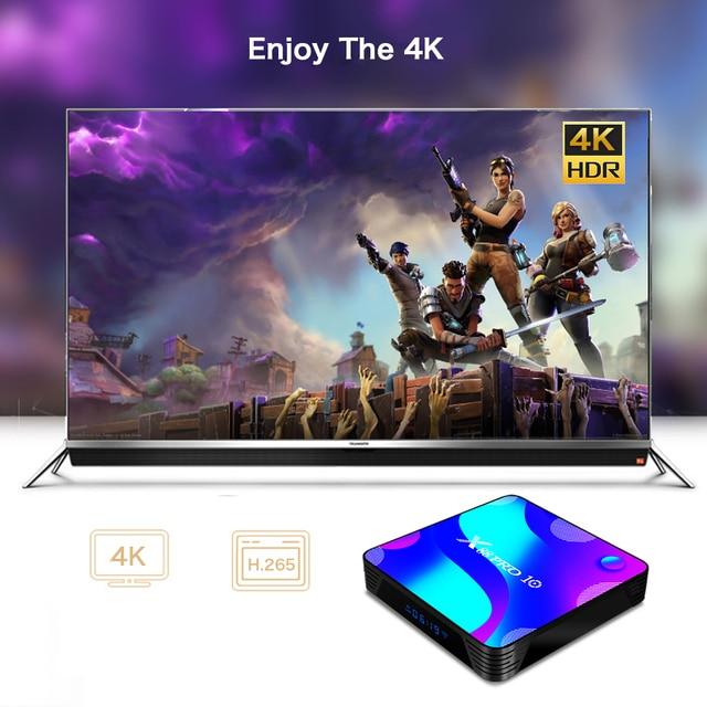 X88 PRO 10 Android 11 Smart TV Box X88 PRO10 4K Media Player Dual Wifi Set Top Box RK3318 Quad Core Google Voice Assistant 3