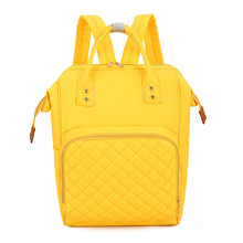 Fashion Solid Color Mommy Backpack Large Capacity Nylon Maternity Organizer Bags Baby Care Nursing Diaper Travel Backpack недорого