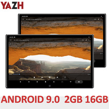 Yazh Android 9.0 16Gb Auto Hoofdsteun Monitor Met 13.3 \