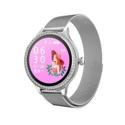 Новый Умный Браслет, женские часы, измеритель пульса, кровяного давления, модные спортивные часы для здоровья, смарт-монитор сна