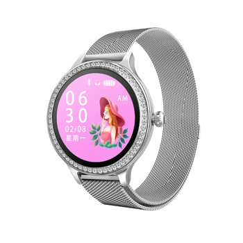 New Smart Bracelet Ladies Watch Heart Rate Blood Pressure Gauge Fashion Health Sports Watch Smart Sleep Monitor
