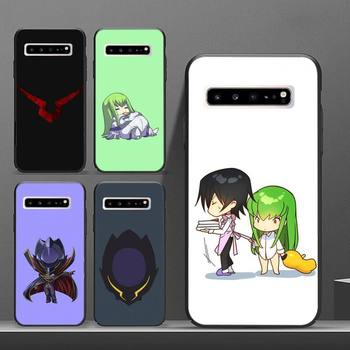 Disobedient Lelouch Phone Case luxury brand cases coque fundas for samsung galaxy S8 S9 S10e S20 PLUS J6 J600 cover image