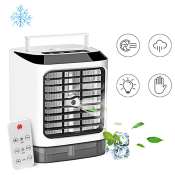 New Portable Mini Air Conditioner Fan Personal Space Cooler Humidifier USB Easy Cool Purifies Air Cooling Fan for Home Office