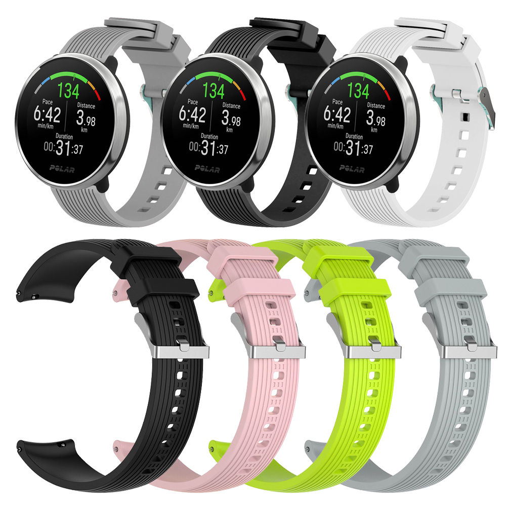 Silicone Strap For POLAR IGNITE Smart Watch 20mm Band Bracelet Replacement Watchband