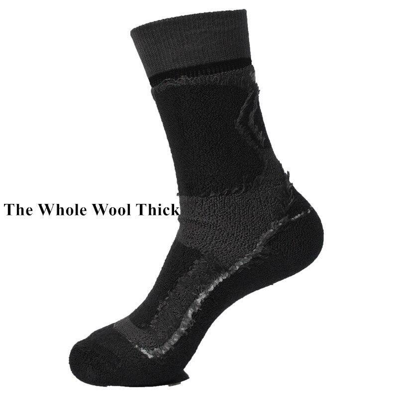 Image 3 - 2 Pairs Winter Outdoor Sports Good Quality Merino Wool Thermo Socks Mens Socks Womens Socks 3 ColorsMens Socks   -