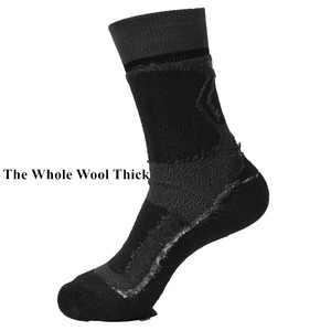 Image 3 - 2 Pairs Winter Outdoor Sports Good Quality Merino Wool Thermo Socks Mens Socks Womens Socks 3 Colors