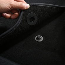 Clipes fixadores para carpete, grampo fixo resistente ao deslizar para carpete ford focus 2 3 4 mk2 fiesta mondeo mk4 de fusão kuga ranger