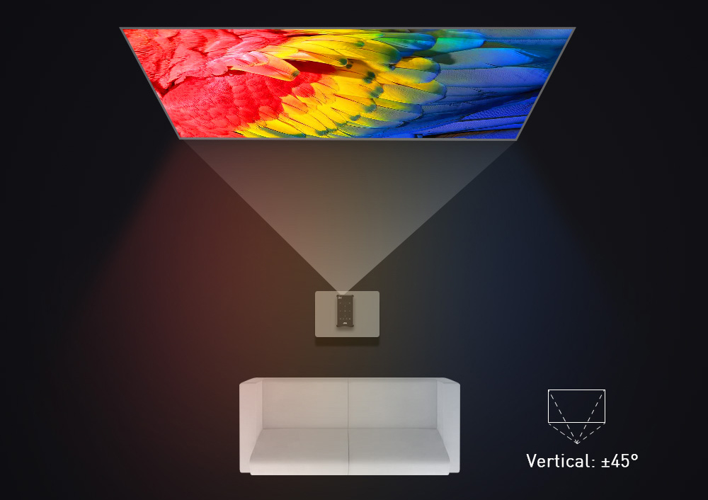 3 WZATCO P09 Android 9 mini projector