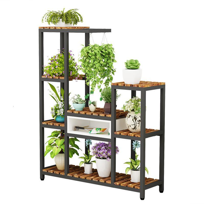 Etagere Plante Estante Para Plantas Suporte Flores Indoor Pot Plant Table Outdoor Balcony Stojak Na Kwiaty Shelf Flower Stand
