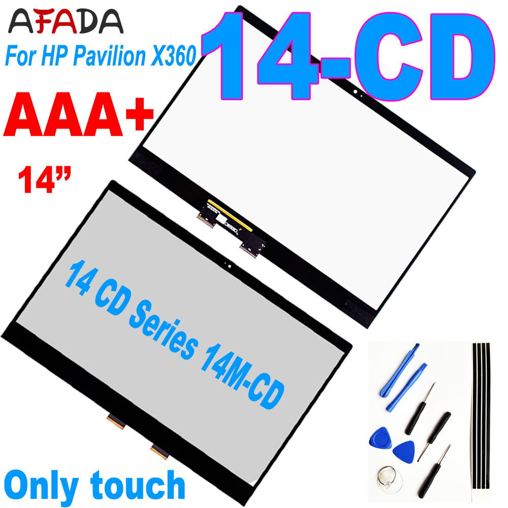 Lcd <font><b>14</b></font>'' <font><b>Touch</b></font> Digitizer For HP Pavilion X360 <font><b>14</b></font>-CD 14CD Series Laptops <font><b>Touch</b></font> <font><b>Screen</b></font> 14M-CD Replacemnt Panel image