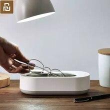 قبل بيع جديد Xiaomi Mijia Youpin EraClean بالموجات فوق الصوتية آلة التنظيف 45000Hz عالية التردد الاهتزاز يغسل كل شيء