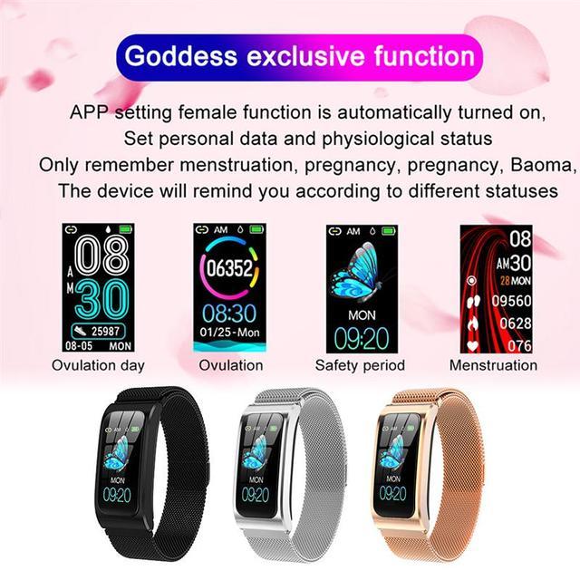 Smart Bracelet AK12 Color Screen Rechargeable Heart Rate Monitor Smart Watch IP67 Waterproof Bluetooth-Compatible Sports Watch 4