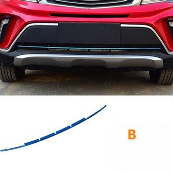 สำหรับ Geely Emgrand X3,GX3,กลางรถตารางบาร์สดใสสติกเกอร์