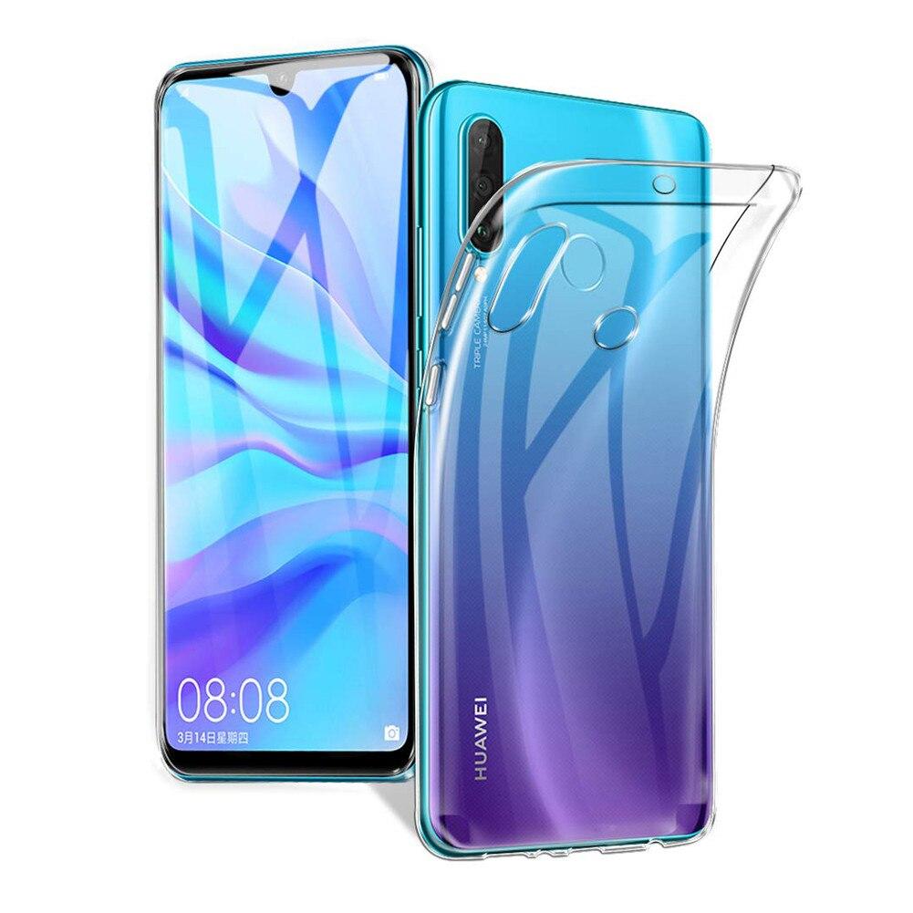 Чехол для Huawei P30 lite, прозрачный силиконовый бампер из ТПУ, мягкий чехол для Huawei P30 lite, 6,15 дюйма, P20, P40, Honor8X, Nova 5T, прозрачный чехол