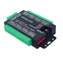 24 Channel 8 Group DMX 512 Led Decoder Use for Led Strip Light Constant Pressure Common Anode