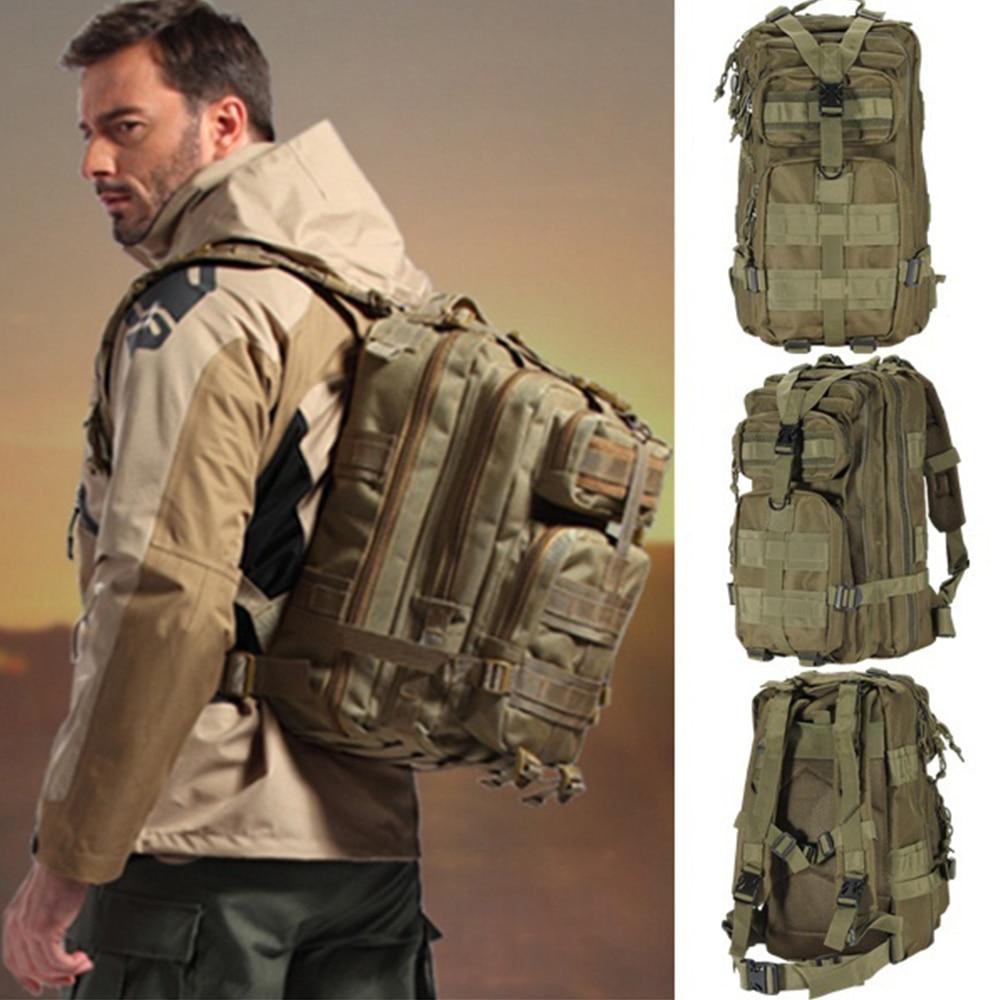 Zunanji vojaški nahrbtniki 1000D najlon 30l nepremočljiv taktični - Kampiranje in pohodništvo - Fotografija 6