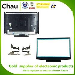 Nowy dla HP Pavilion 15-DK 15-dk0134TX TPN-C141 LCD tylna pokrywa L57174-001 L56915-001 L56914-001/LCD osłona przedniej pokrywy/zawiasy LCD