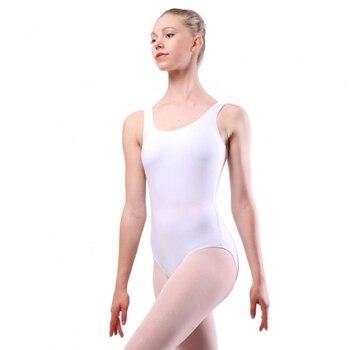 Womens classic tank leotard elegant scoop neck high scoop back Gymnastics Nylon Sleeveless Dancewear leotard black printed scoop neck sleeveless mini gym tops
