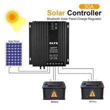 Solar Controller 12V/24V Dual Battery Solar Charger Controller Bluetooth Module Controller With Bluetooth Adapter And APP