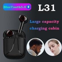 L31 Muziek Hoofdtelefoon Bluetooth Oortelefoon Sport Oordopjes Business Headset Werkt Op Alle Smartphones Samsung Xiaomi Huawei Iphone