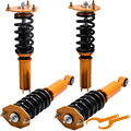 Комплекты coiloverer для Mitsubishi 3000GT FWD 1991-1999 3.0L Stealth 1991-1996 золотые стойки Coilovers пружины