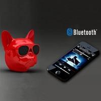 mini wireless bluetooth Novelty  Animal Mini Portable Wireless Bluetooth Speaker Bass Stereo Support U Disk/TF Card Bulldog Design For Smart Devices (2)