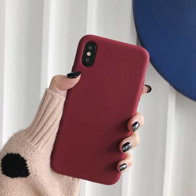 Lamocase silikon telefon kılıfı için huawei P akıllı artı p20 p30 p8 p9 p10 lite 2017 2018 2019 onur 20 Pro şeker renk yumuşak tpu