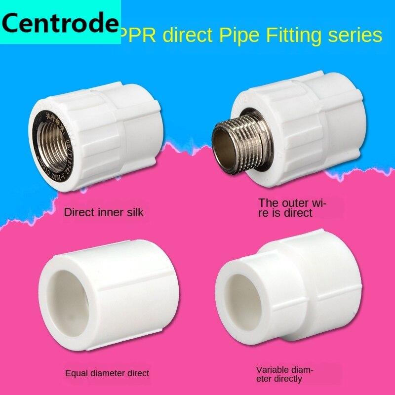 PPR Внутренний провод наружный провод прямой локоть бытовой PPR трубы горячей и холодной воды фитинги горячего расплава соединение|Фитинги для труб|   | АлиЭкспресс