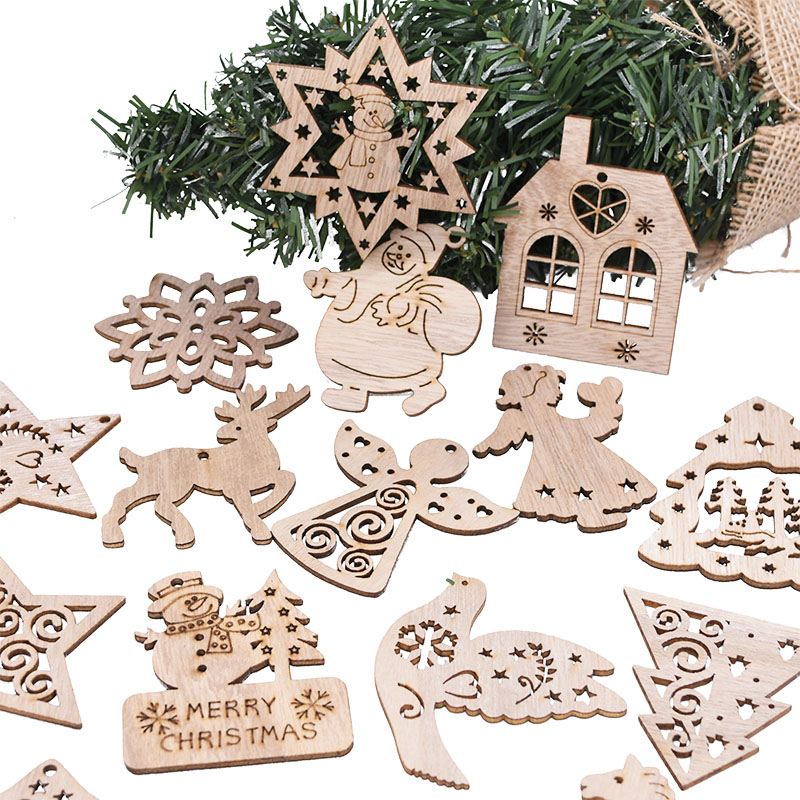 5 pcs Tree Angel Christmas Ornament Hanging Pendant Xmas Decoration DIY  Craft