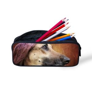 На заказ логотип холст для женщин и мужчин пенал для детей ручка сумка на молнии пенал для мальчиков и девочек школьные канцелярские принад...