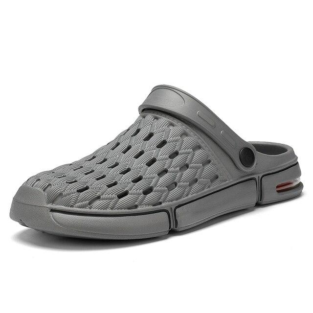 Фото 2020 мужская летняя повседневная обувь пляжная мужские сандалии