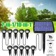 Lawn-Lamp Light-Path Landscape Solar-Powered Garden Outdoor Waterproof LED IP65 Spike