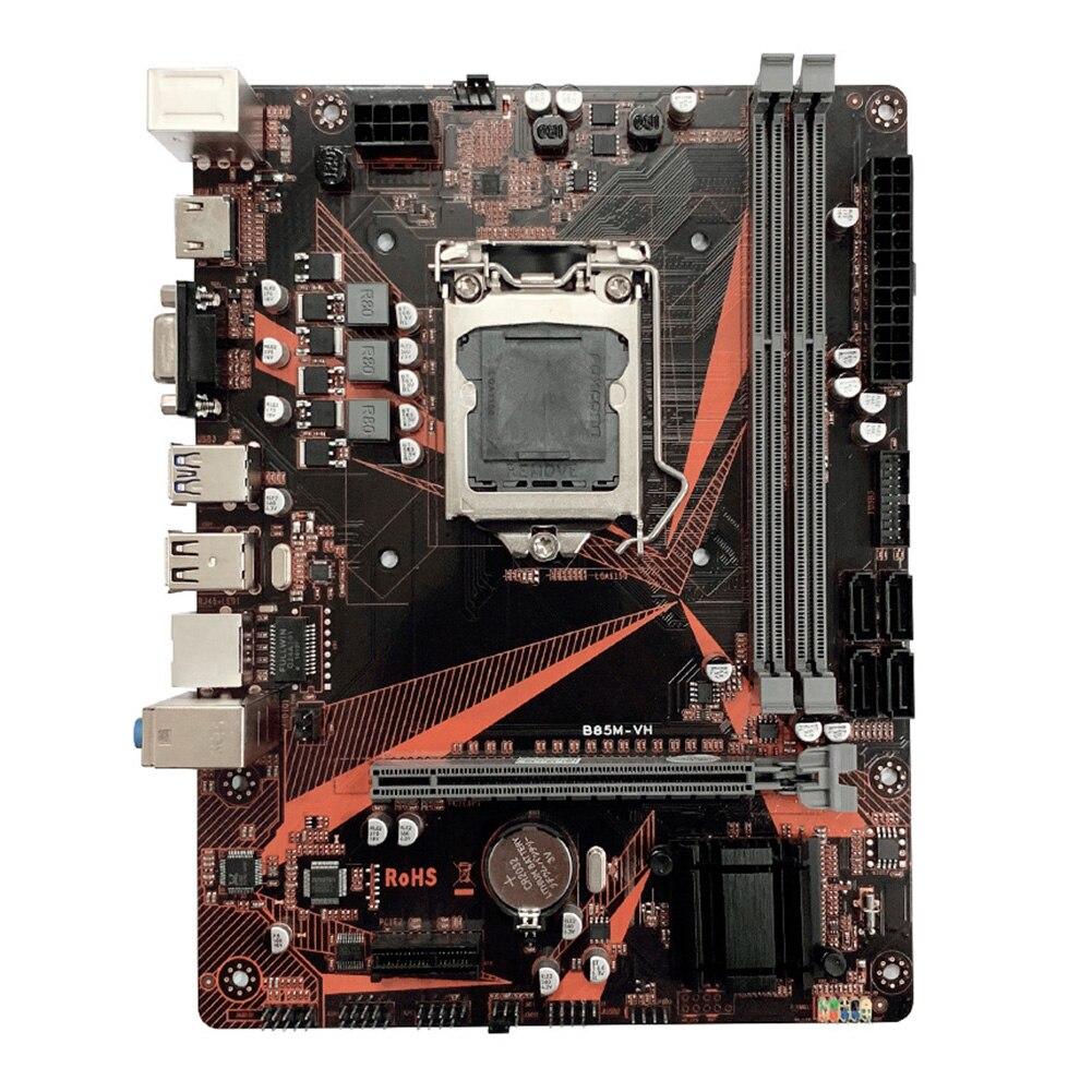 B85M-VH double canal LGA 1150 haute vitesse 16G DDR3 SATA3.0 bureau HDMI PCI-e accessoires de bureau de jeu USB 3.0 carte mère