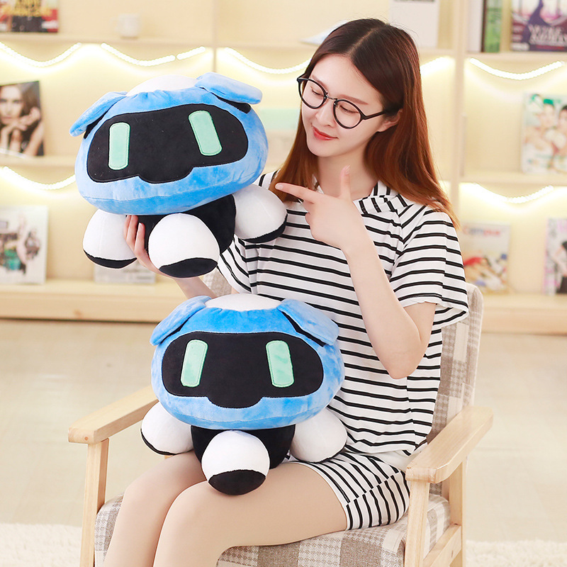 40cm Overwatches Plush Cushions Toys Overwatching Blizzcon Mei Stuffed Pillow Dolls Cartoon OW Cosplay Plush Toy Girls Boys Gift
