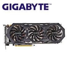 Gigabyte gtx 970 4gb placas gráficas gddr5 256 bit gpu placa de vídeo para nvidia geforce gtx970 4gb mapa vga hdmi dvi cartões usados
