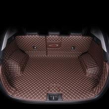 Кожаный Автомобильный Коврик для багажника hyundai tucson 2019 2020, внедорожный грузовой лайнер, аксессуары, внутренний багажник