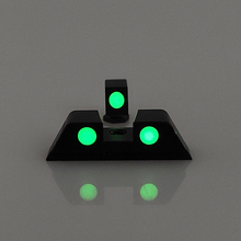 Hunting Pistol Handgun Glow in the Dark Night Sights Front and Rear Sight Set For Glock