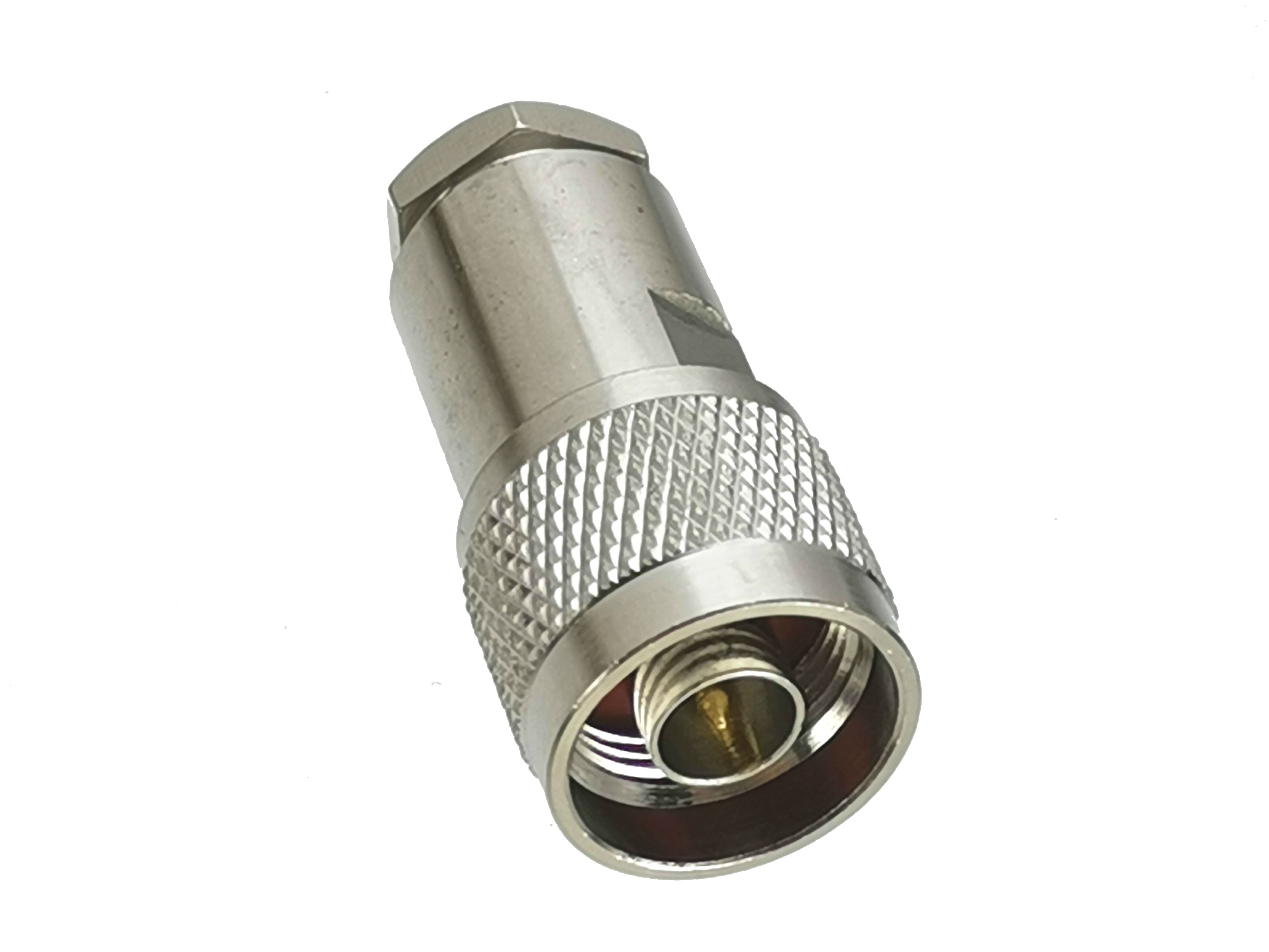 USA Seller 10 PCS Right Angle N Male to N Male Connector
