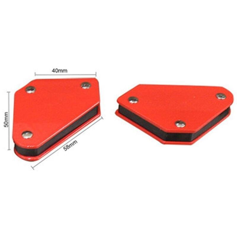 4 шт./компл. мини Треугольники-сварочный манипулятор 9Lb Магнитный фиксированный угол пайки локатор инструменты без переключатель аксессуары для сварки и резки