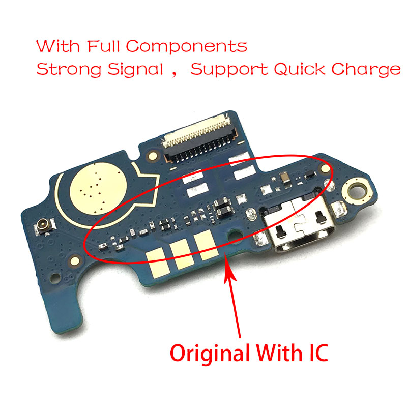 New For ZTE Blade L7 USB Port Charger Dock Plug Connector Charging Board FLex Cable Mic Microphone Board