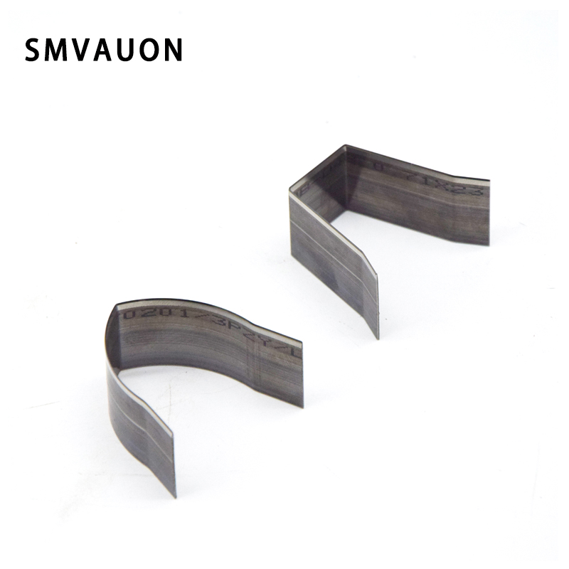 SMVAUON 10Pcs DIY Handwork Leather Belt Square/V Shape Punch Cutter Square Leather End Cutter Leather Cutting Die For Belt Head