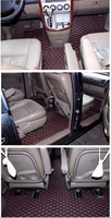 Good mats! Custom full set car floor mats + trunk mat for KIA Carnival 7 8 seats 2014 2004 waterproof carpets for Carnival 2008