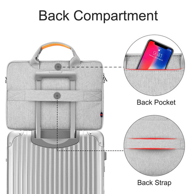 Gray Wiwu Sleeve Case For Laptop And MacBook Air & Pro  4
