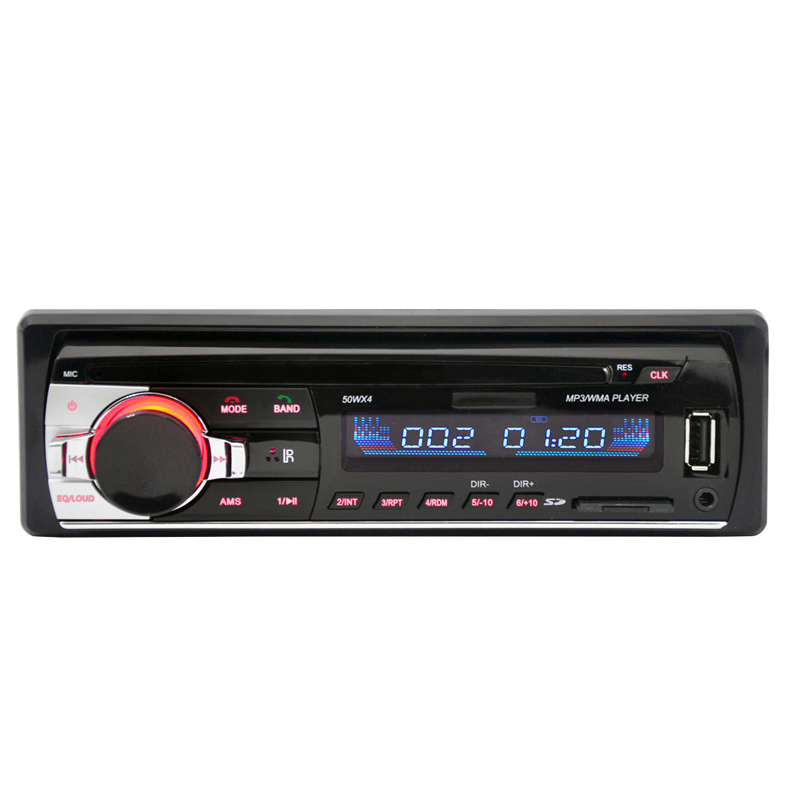 Auto radio JSD520 Car Radio Stereo Player Digital Bluetooth Car MP3 Player 60Wx4 FM Radio Stereo Audio with In Dash AUX Input image